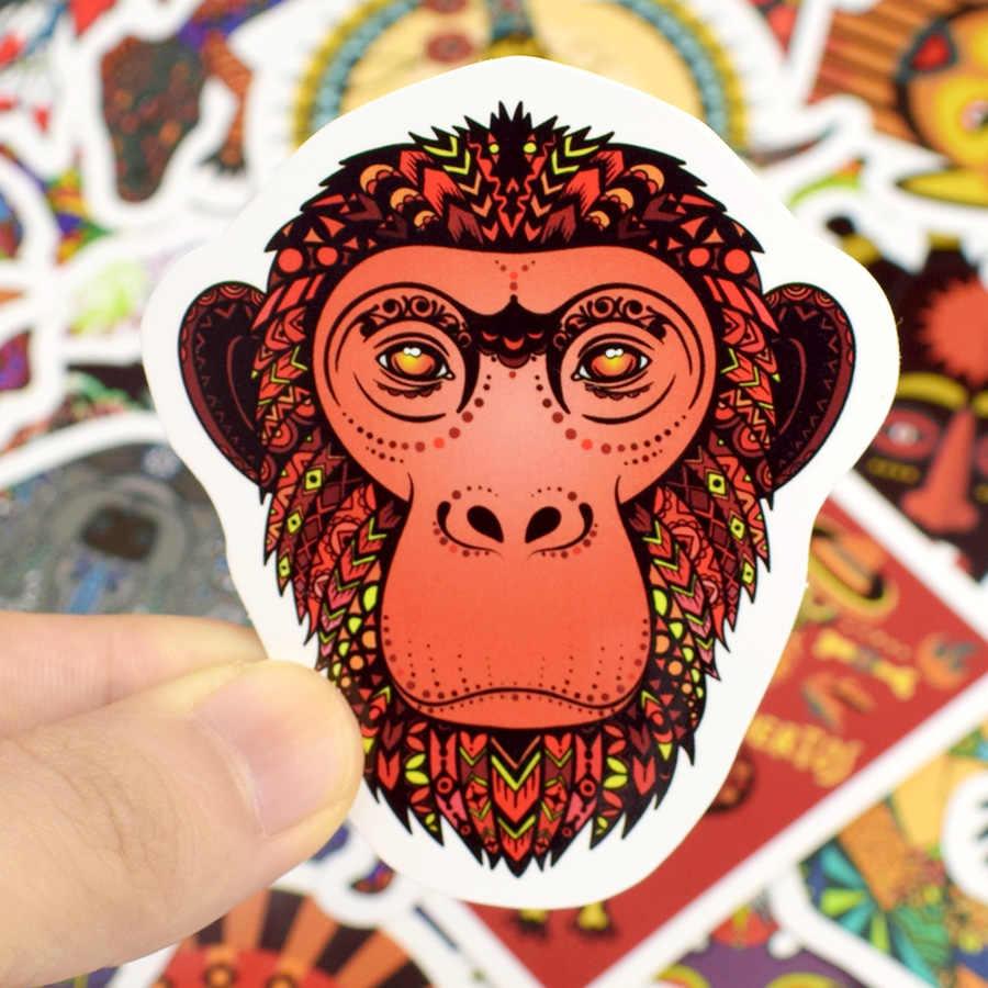 50 шт. стикер с тотемными узорами животных граффити Племенной татуировки Этническая стикеры s к DIY ноутбук скейтборд чемодан гитары автомобиль мотоциклетный шлем