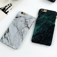 Retro Smooth Marble Phone Case Cover for iPhone 7 6 6S Plus 5 5s SE Hard PC Case Coque Ultra Slim Back Covers Capa Fundas
