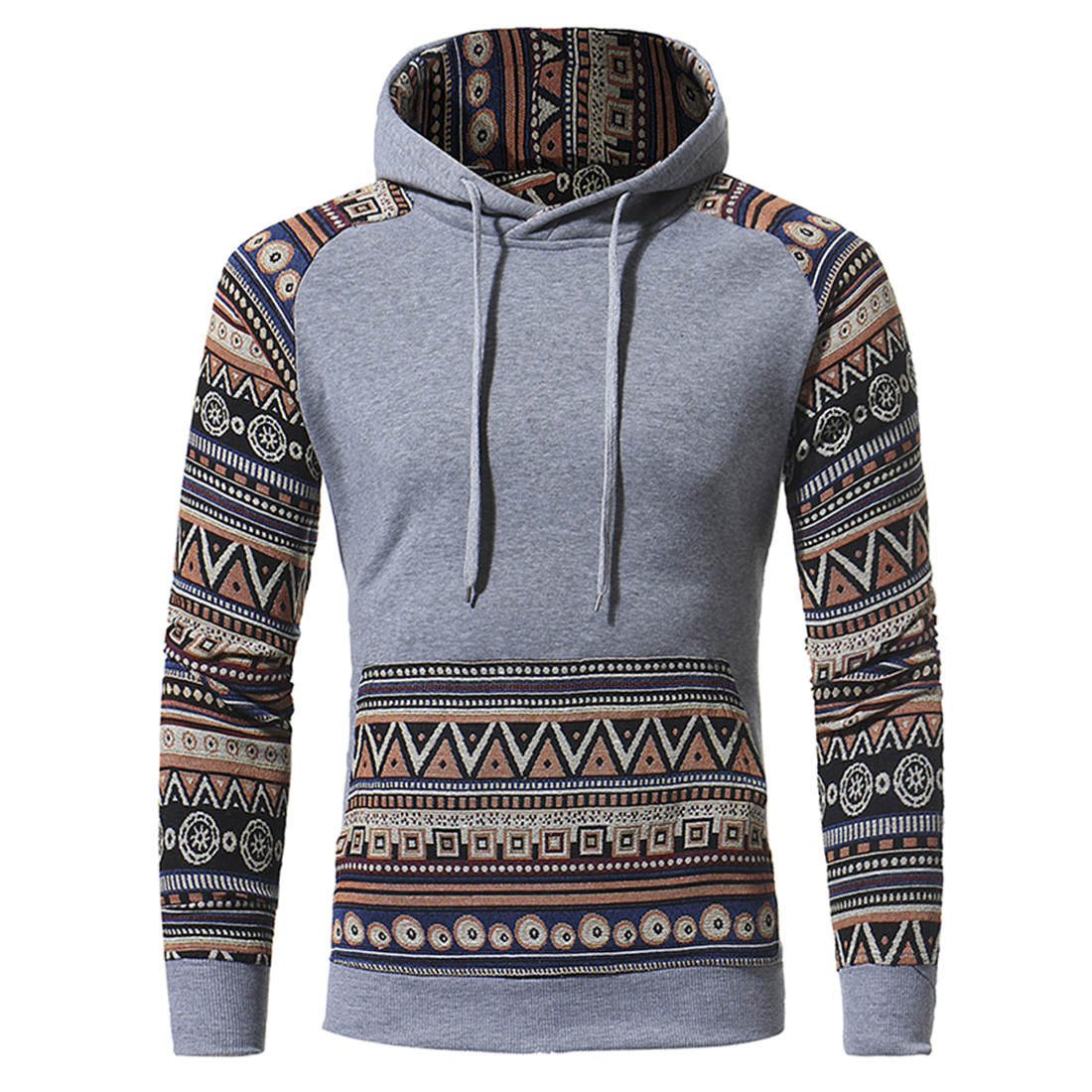 High Quality Mens Autumn Hoodie Hooded Sweatshirt Coat Jacket Outwear Sweats Homens Hoody Boys oversized XXXL Stripe Male Coat
