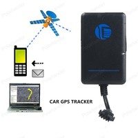 Voice Monitor TK200 Car Vehicle GPS GSM Tracker with Over speed Movement Alarm Real time Motocycle Auto Tracker Remote Control