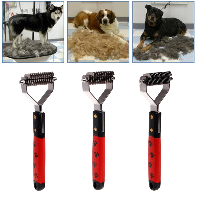 Large Dog Cat Pet Hair Fur Shedding Trimmer Grooming Comb Brush Cleaning ToolWarm's house Dropshipping #HCNSH#