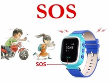 New Arrival Kids Smart Wrist Watch with GPS SOS Children Baby Smart Watch GPS LBS SIM