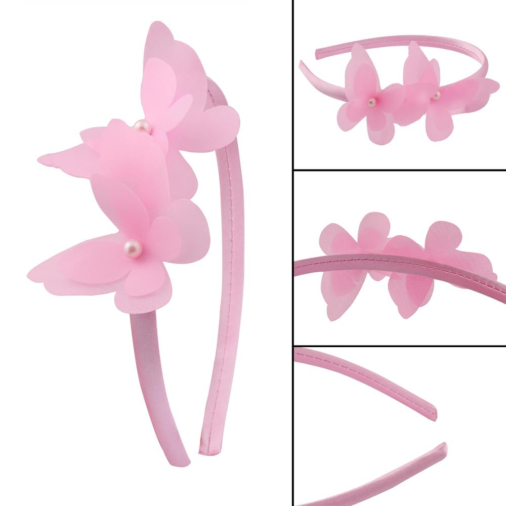 Candygirl Multicolour Flower Covered Hairbands For Women Girls Plastic Headbands Handmade Kids Candy Color Hair Accessories in Hair Accessories from Mother Kids
