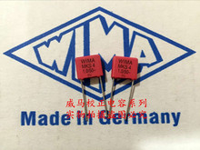 2019 hot sale 10pcs/20pcs German capacitor WIMA MKS4 50V 1UF 1.0UF 50V 105 P: 7.5mm Audio capacitor free shipping 100pcs 50v monolithic ceramic capacitor 10pf 10uf 22pf 47nf 220nf 1nf 4 7uf 1uf 100nf 330nf 0 1uf 102 104 105 106 103 473 334