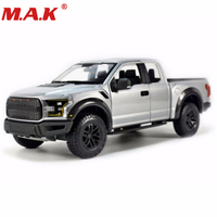 cheap children toys 1/24 scale 2015 F150 diecast truck pick up car silver color model toys for boys girls gift collection