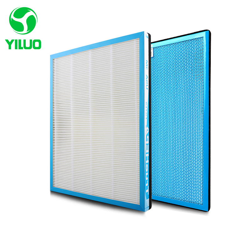 купить 348*265 mm high efficiency hepa filter and activated carbon filter of air purifier parts for SKG-JH4053/4207/4208 etc по цене 2322.11 рублей
