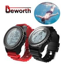 S968 GPS Smart Watch IP68 Waterproof Swimming Dynamic Heart Rate Monitor Fitness Tracker Multi-sport Men Running Smartwatch