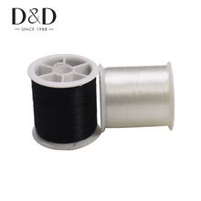 100m Nylon Thread Inelastic Wire Bracelet Jewelry DIY Clothing Materials Sewing Thread 0.13mm