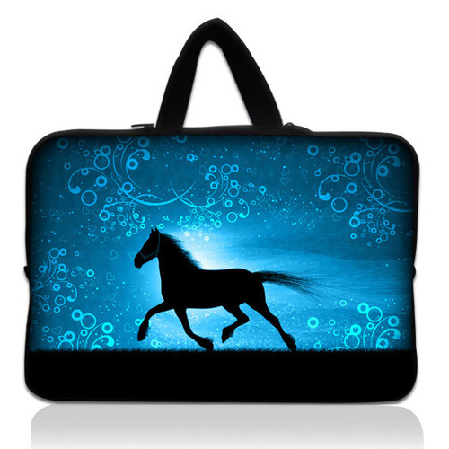 Run Horse15 Laptop Carry Sleeve Case Bag+Handle For 15.6 Acer HP Dell ASUS Lenovo