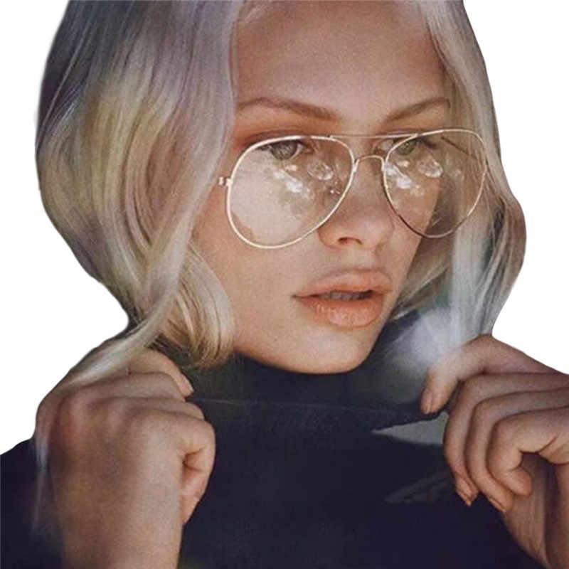 17ebe6085a Retro Vintage Round Metal Frame Eyeglasses Mens Womens Nerd Clear Lens  Glasses Transparent Optical Eyewear Plain