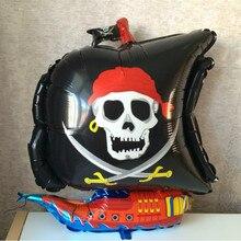 1pc 54*68cm Irregular Corsair Balloon Sea Rover Balloon Pirate Ship Balloons Foil Balloon for Party Layout Decoration