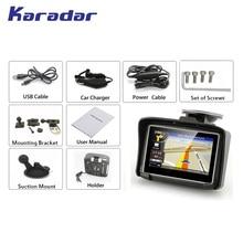 Waterproof Motorcycle GPS - 4.3 Inch Win CE 6.0 Car GPS Navigator - Built-in 4GB Map цена