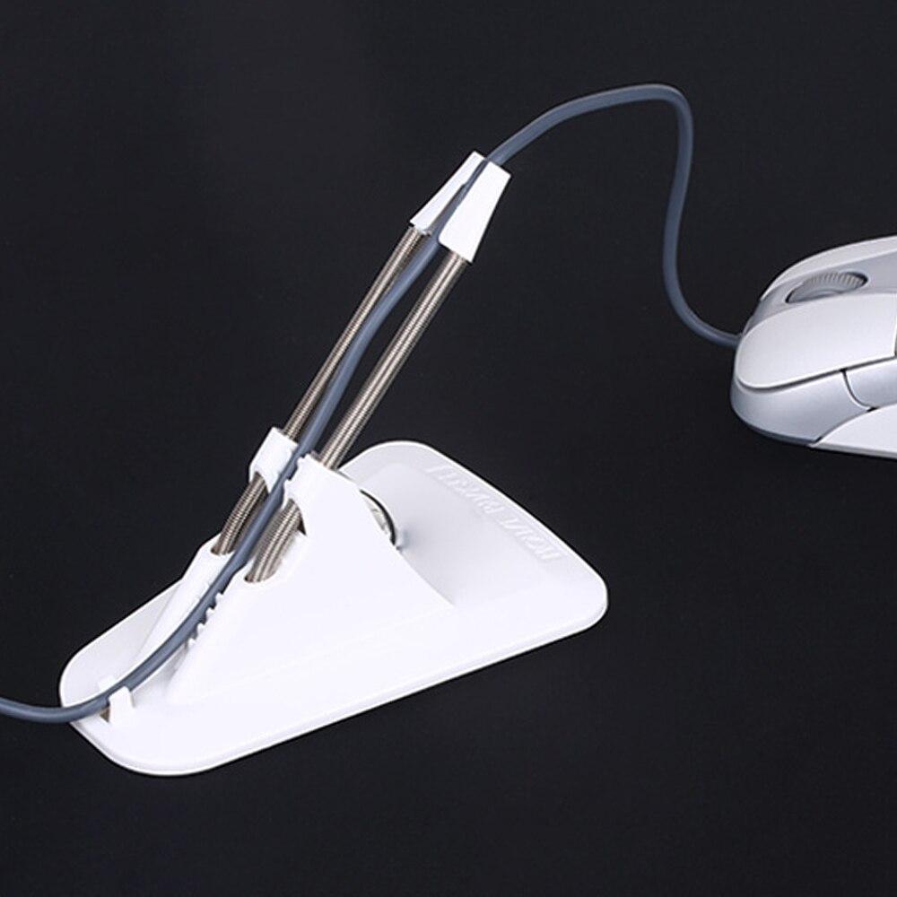 Neue Maus Kabel Halter Hohe Qualität Maus Bungee Cord Clip Draht Organizer Flexible Für Mäuse Perfekte Spielen Spiel CS CF LOL