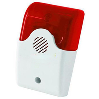 P404 LB 02 Wireless Indoor Strobe Flash Alarm Siren Horn With Flashing Light 315MHz For Home