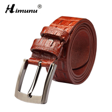 New Luxury Leather Belt For Men – Available Colors – Black / Coffee / Red Brown / Yellow
