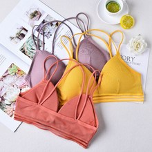 Women Tube Tops Lingerie Strapless Backless Bra Bandeau Slim Sexy Solid Tanks Top Underwear