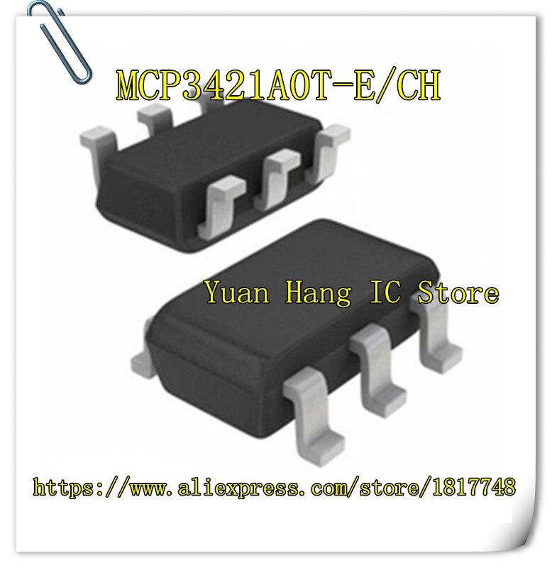 10PCS/LOT MCP3421A0T-E/CH MCP3421A0T-E/C MCP3421A0T-E MCP3421A0T MCP3421 SOT23-6