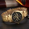 CHENXI Gold Watch Men Watches Top Brand Luxury Famous 2016 Wristwatch Male Clock Golden Quartz Wrist Watch Relogio Masculino