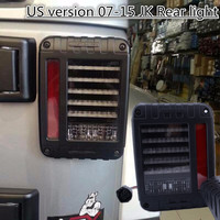 1 Pair US Version 07 15 Wrangler JK LED Taillight With Free Shipping Only US Version