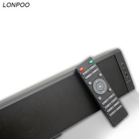 LONPOO Powerful 60W Bluetooth TV Soundbar Wireless Stereo Subwoofer Surround Sound Home Theater System For TV