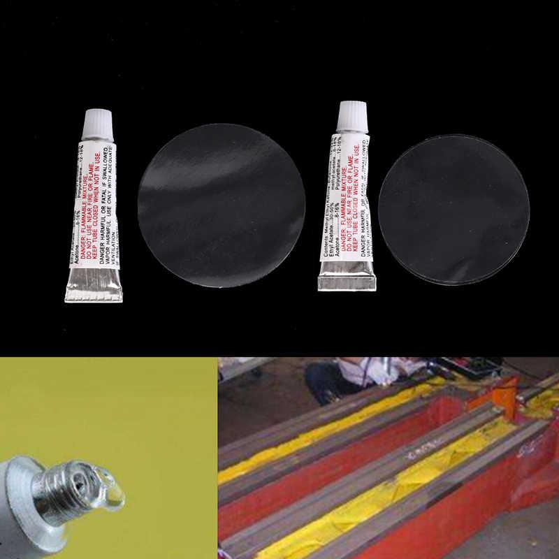 2 teile/satz Reparatur kleber Überholung patch + kleber Aufblasbare bett pool boot sofa Reparatur kleber Intex reparatur paket Pool & zubehör