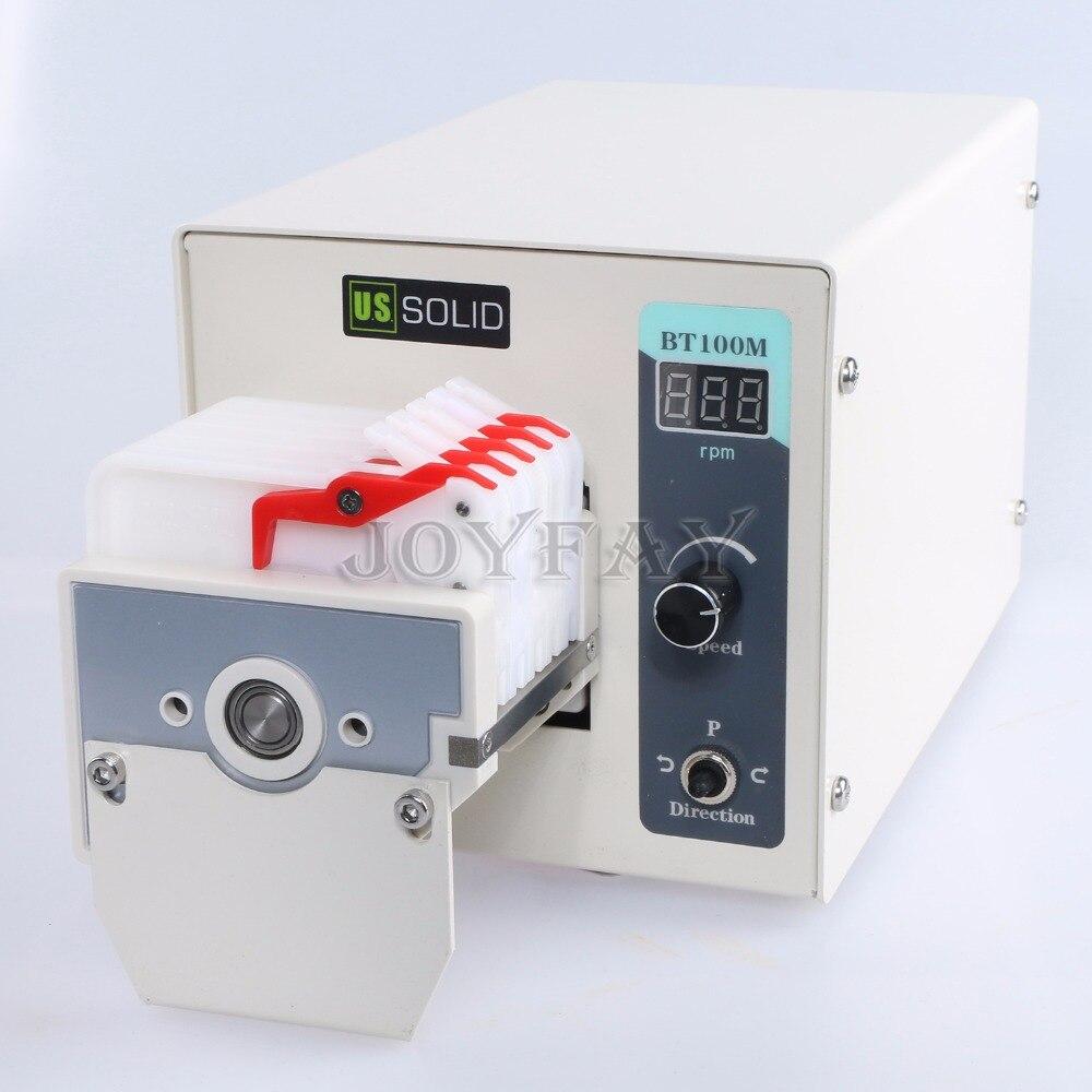 Peristaltic Pump BT100M MC4 6 Roller 0.0008 - 45 ml/min per channel 4 channel peristaltic pump v6 dispensing 2 channel 2 yz2515x 0 007 1740 ml min per channel ce certification one year warranty