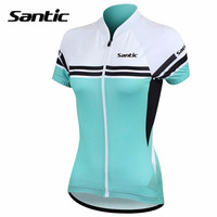 Santic Cycling Jersey Women 2016 Charges Short Sleeve Bicycle Sports Cycling Jerseys Summer Cycling Clothes China