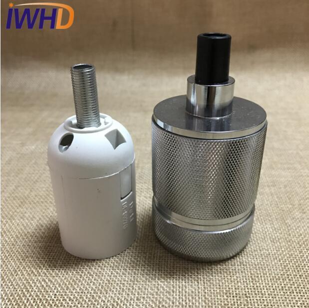 Portalampada, винтажный E27 патрон для лампы, фитинг, промышленный стиль, дуиль E27, винтажный патрон для лампы Эдисона, подвесное основание для патрона - Цвет: 5