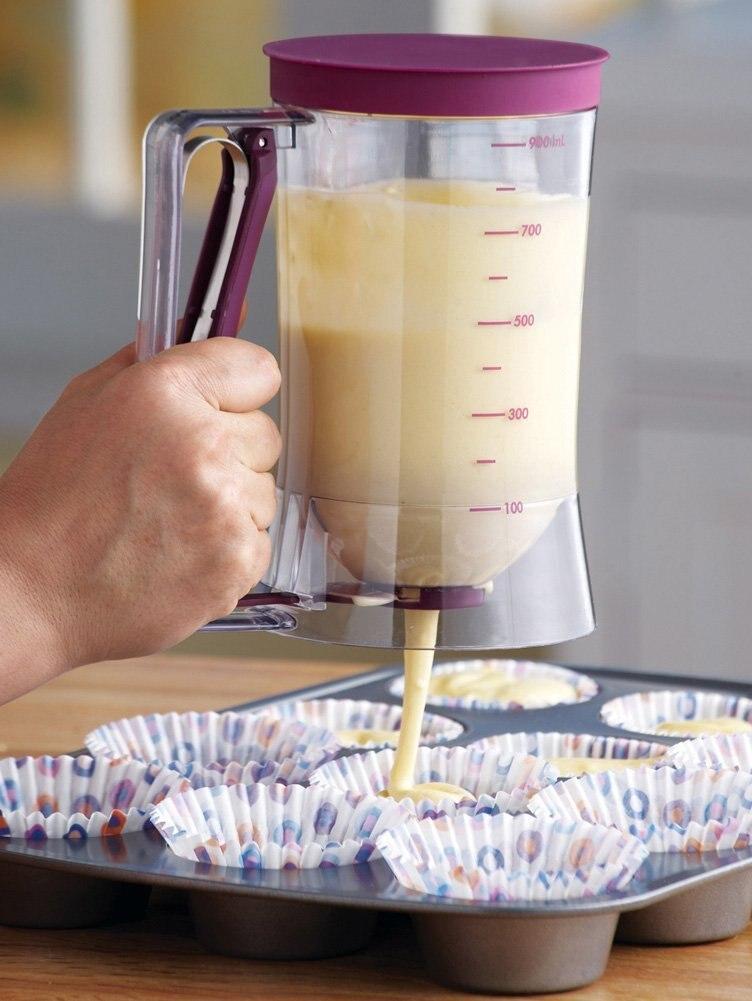 Free Shipping NEW TOP Cupcake batter tritium special distributor batter dispenser cup batter hopper