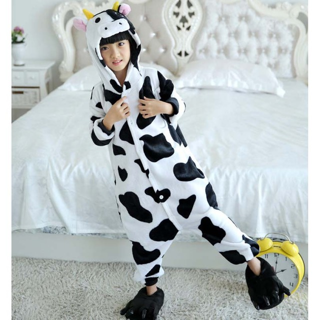 Детский костюм с изображением животных из мультфильма «Корова ... 15229b5d93bbb