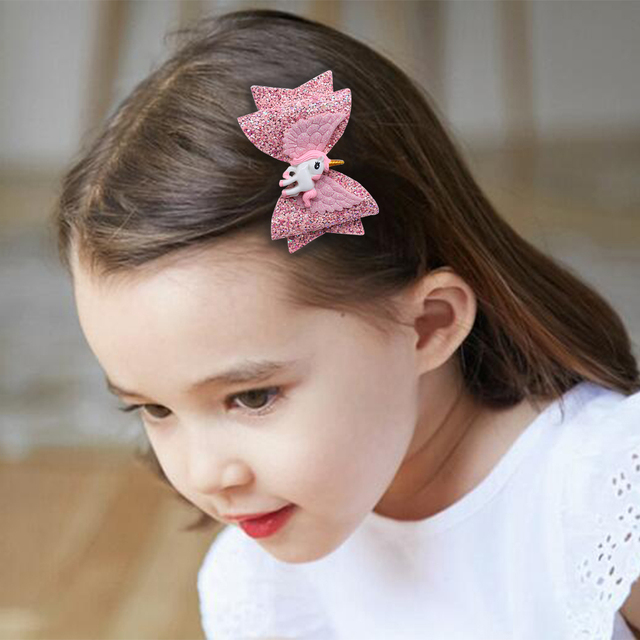 Unicorn Wing Hairpins for Girls