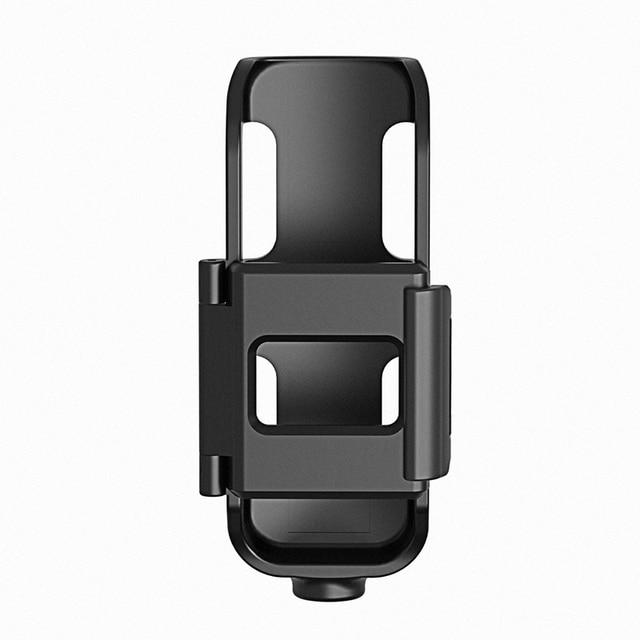 Osmo ポケットジンバル保護フレームサポート 1/4 ネジ selfie スティック三脚マウント dji Osmo ポケットハンドヘルドカメラアクセサリー