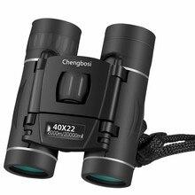 HD 40x22 Mini Binocular Professional Binoculars Telescope Opera Glasses for Travel Concert Outdoor Sports Hunting Hiking