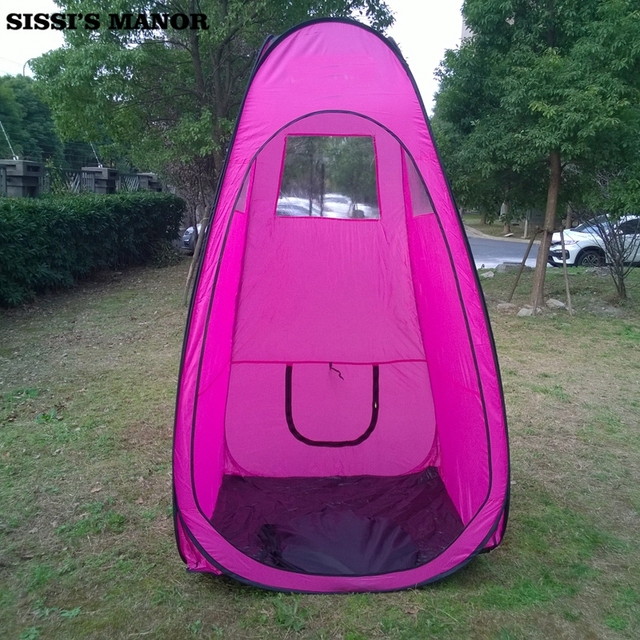 Pink color Pop Up Airbrush Makeup Sunless Spray Tanning Tent Booth Clear Window Spray Tanning Equipments & Pink color Pop Up Airbrush Makeup Sunless Spray Tanning Tent Booth ...