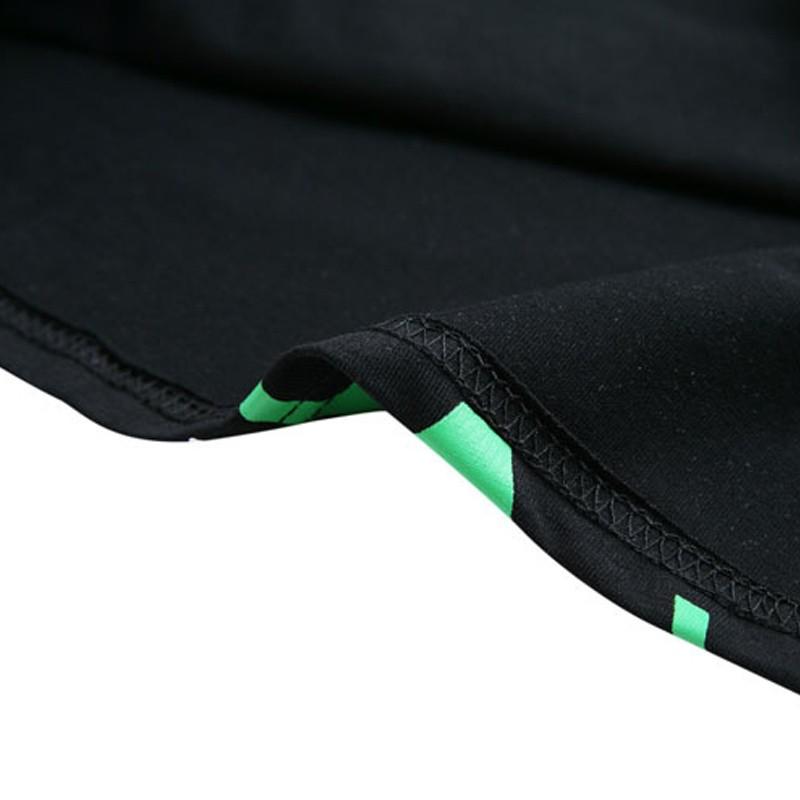 HTB11az LpXXXXa.XVXXq6xXFXXXh - Punk Alien ET Print Black Short Sleeve T Shirt