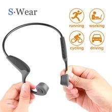 купить Bluetooth 5.0 S.Wear Z8 Wireless Headphones Bone Conduction Earphone Outdoor Sport Headset with Microphone Handsfree Headsets по цене 1894.75 рублей