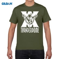 GILDAN Men Fashion Brand T Shirt Thunderdome Hardcore Techno And Gabber Men Women T Shirt Wizard