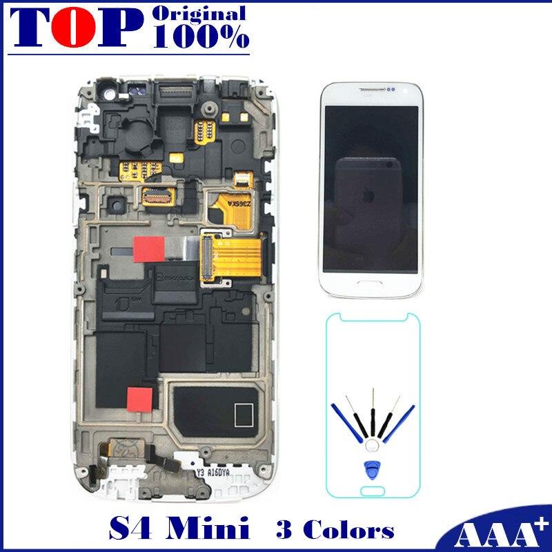 For Samsung Galaxy S4 Mini I9190 i9192 i9195 LCD Display font b Touch b font font