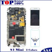 Para samsung galaxy s4 mini i9190 i9192 i9195 lcd pantalla táctil con digitalizador de reemplazo