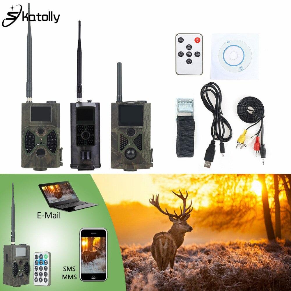 Skatolly 3G инфракрасная охотничья камера HC300M HC700G GSM 1080 P фото ловушки ночное видение дикая тропа камера s охотники Скаутинг Chasse