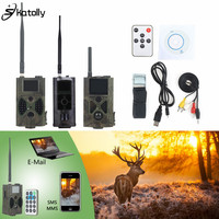Skatolly 3G Infrared Hunting Camera HC300M HC700G GSM 1080P Photo Traps Night Vision Wild Trail Cameras Hunters Scouting Chasse