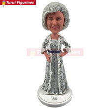 Personalized Grandma Christmas Gift Grandmother Custom Bobble Head Mother Birthday