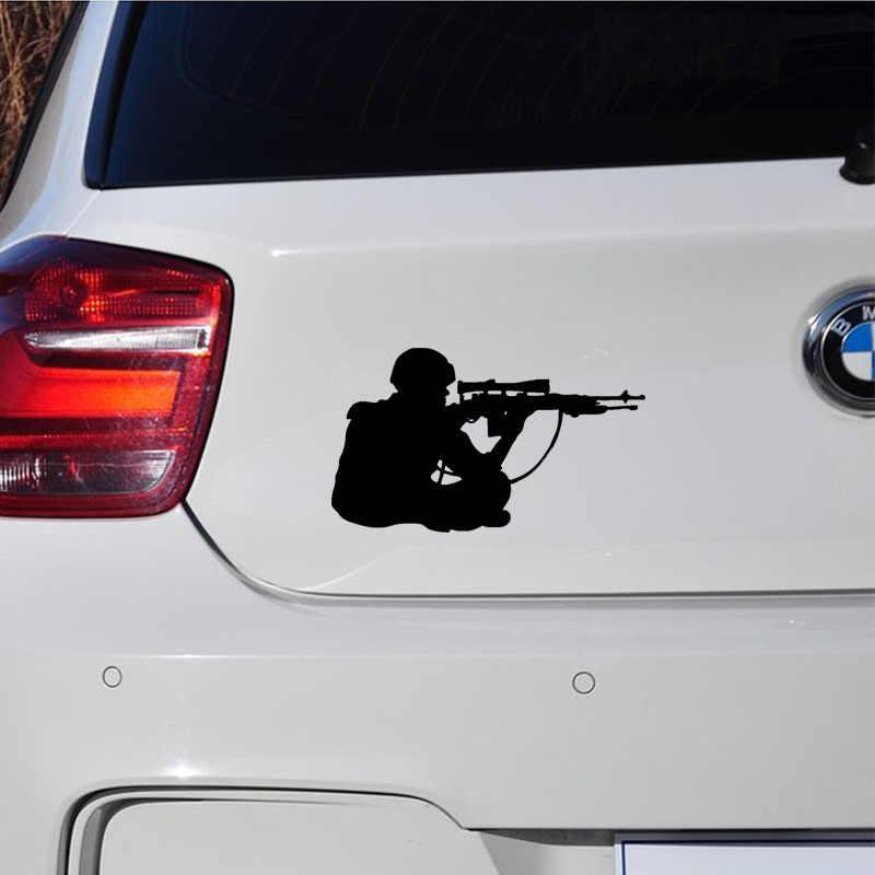 Снайпер стрелок военный автомобиль авто виниловые наклейки на окна наклейка на бампер