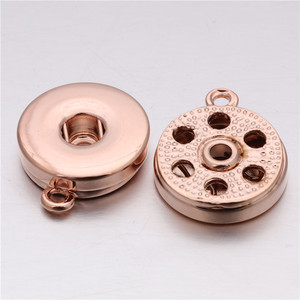 6pcs/lot Snap Jewelry 18mm Ros