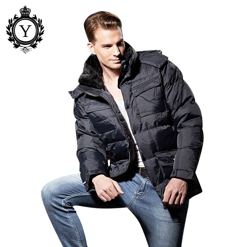 De Plus dark 2018 Veste Blue Coutudi Hommes Black Et Casual La Taille Hiver Coton Mélange Manteaux Cagoulés Vêtements Outwear Classique Épais tXw6xw