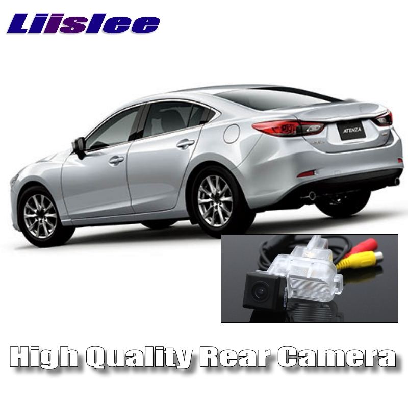 LiisLee Car Camera For Mazda 6 M6 Atenza GJ 2013~2017 High Quality Rear View Back Up Camera For Friends to Use  CCD with RCA