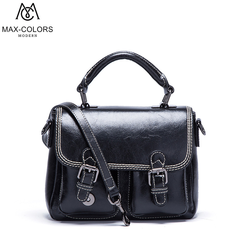 MC Fashion Women Handbag Tote Crossbody Bag Female Top-handle Bags Famous Brands Split Leather Handbags Vintage Shoulder Bag стоимость
