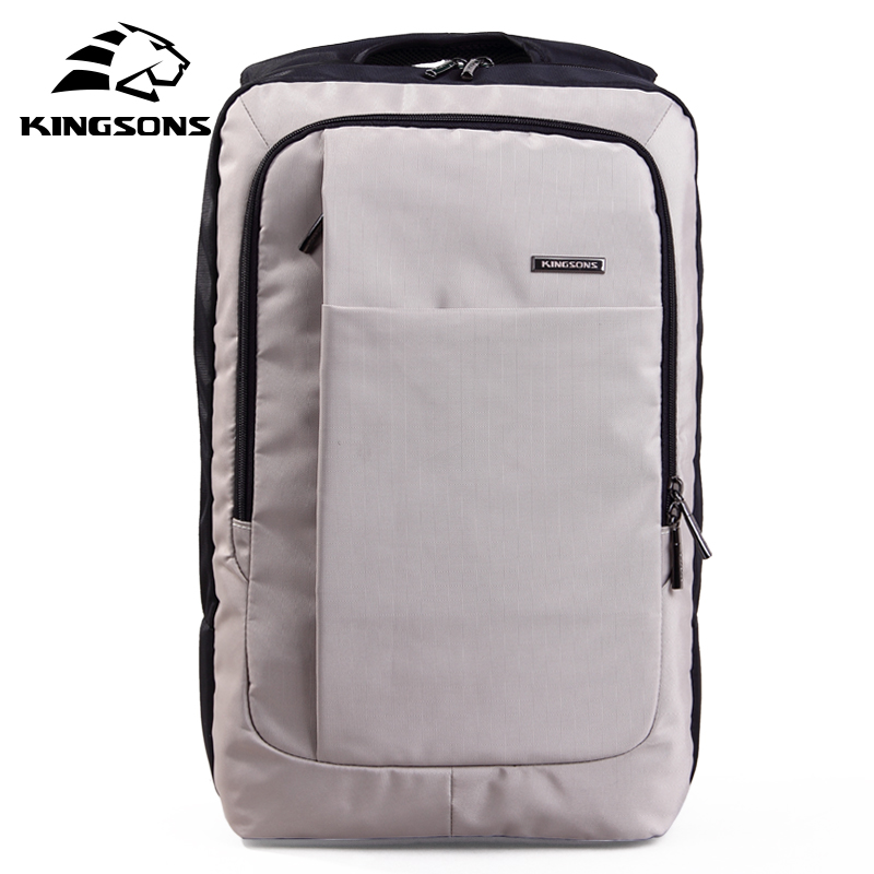 kingsons Quality Men Backpack nylon Anti Theft Backpack Women Bag USB Charge 15.6inch Laptop Mochila Waterproof Travel Back Pack kingsons external charging usb function school backpack anti theft boy s girl s dayback women travel bag 15 6 inch 2017 new