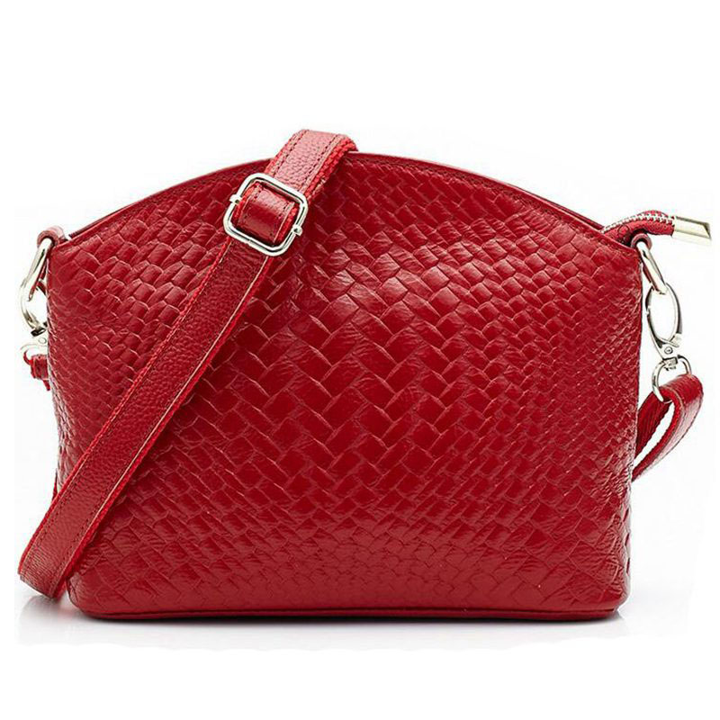 Famous Brand Vintage Designer Women Leather Handbags Messenger Bag Ladies Shell Shape Crossbody Shoulder bolsa PP-400