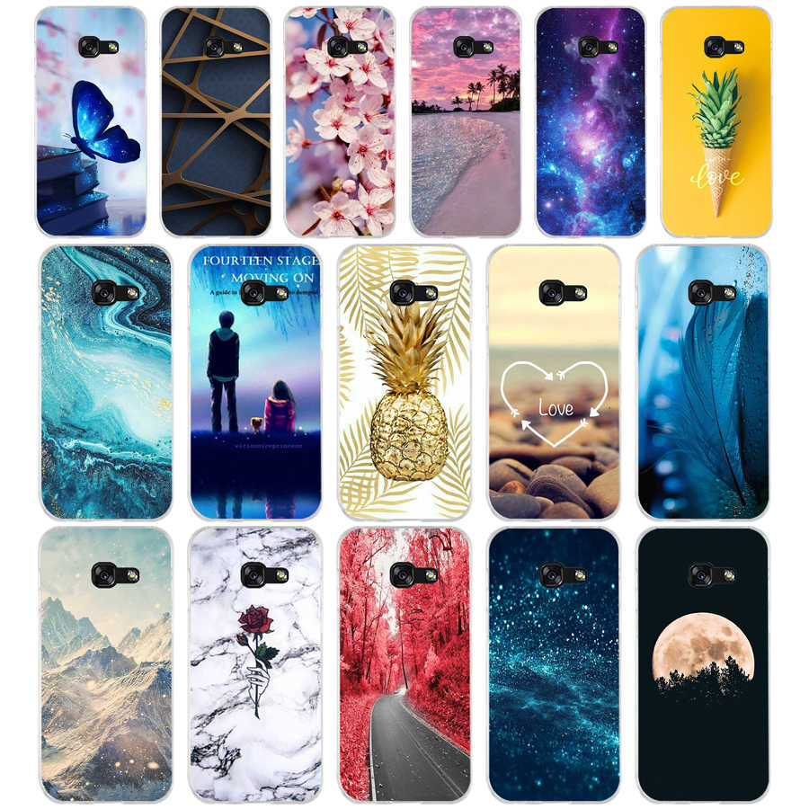 N For Samsung A5 2017 Case Soft Silicone Phone Case for Samsung Galaxy A5 2017 SM-A520F Cover Fundas for Samsung Galaxy A5 2017